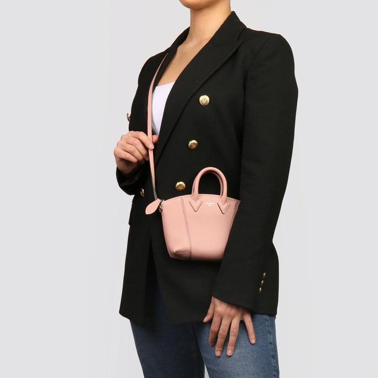 2015 Louis Vuitton Magnolia Veau Cachemire Leather Nano Rock It For Sale 6