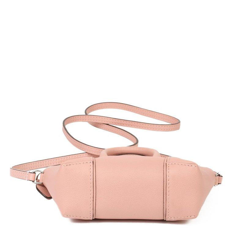Women's 2015 Louis Vuitton Magnolia Veau Cachemire Leather Nano Rock It For Sale