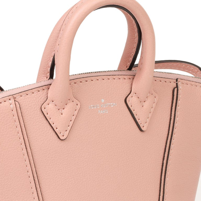 2015 Louis Vuitton Magnolia Veau Cachemire Leather Nano Rock It For Sale 1