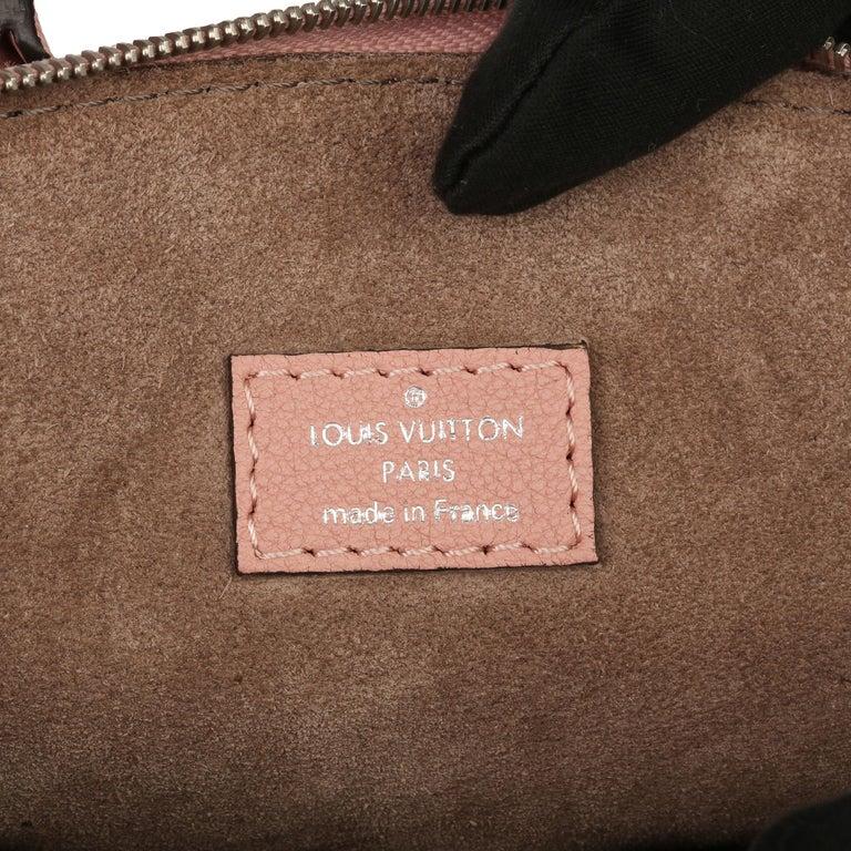 2015 Louis Vuitton Magnolia Veau Cachemire Leather Nano Rock It For Sale 3