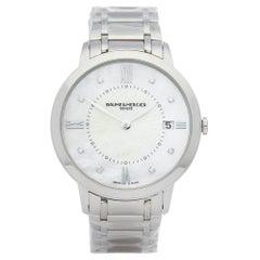 2016 Baume & Mercier Classima Stainless Steel MOA10225 Wristwatch
