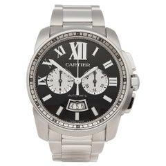 2016 Cartier Calibre Stainless Steel W7100061 Wristwatch