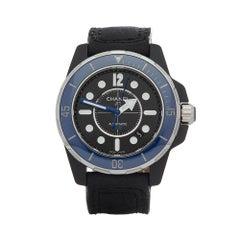 2016 Chanel J12 Marine Ceramic Bezel Other H2559 Wristwatch