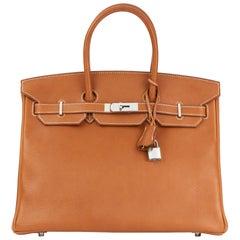2016 HermèsBarenia Faubourg Leather Birkin 35cm