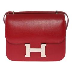 2016 Hermès bordeaux Costance 18