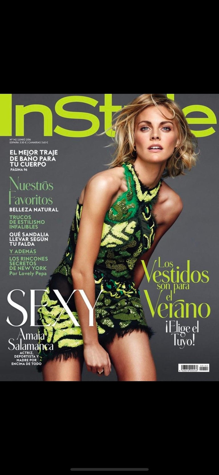 2016 Iconic Versace Embellished mini dress as seen on InStyle cover For Sale 1