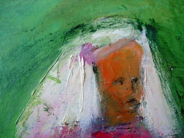 Expressionist 2016 Josie Frances Hadley Alice and the Rabbit of Hearts For Sale