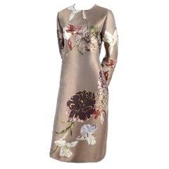 "Valentino ""Kimono 1997"" Japanese Inspired Floral Column Dress, 2016"