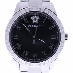 2016 Versace V-Sport P6Q99FD008S099 Black Dial