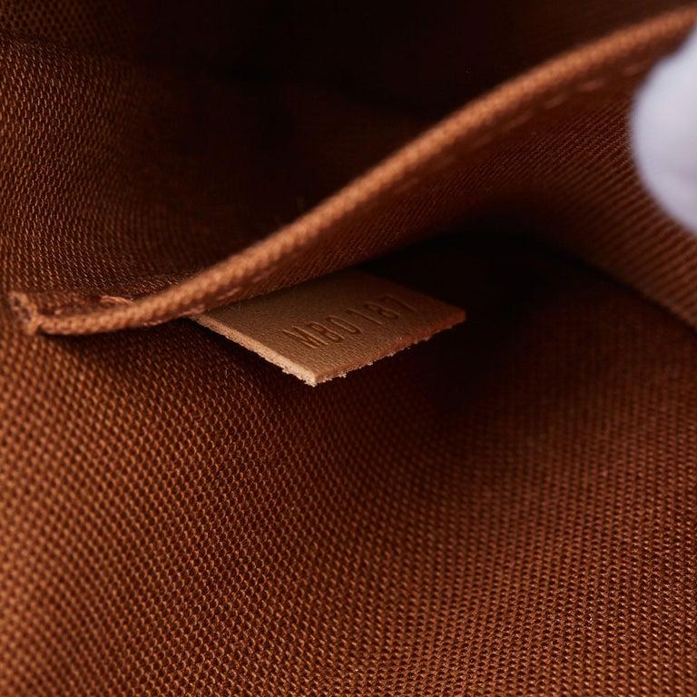 2017 Louis Vuitton Brown Monogram Coated Canvas Pochette Accessoires For Sale 6
