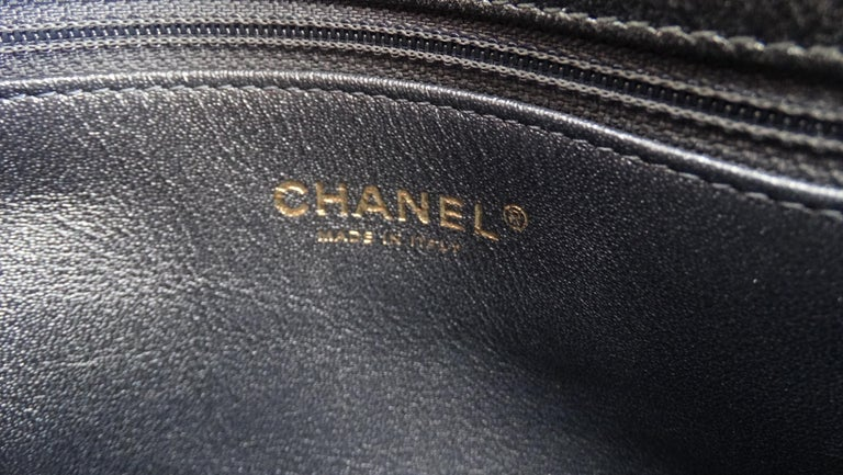 2017 Rare Chanel Mixed Leathers Classic Single Flap Bag  3