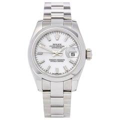 2017 Rolex Datejust Stainless Steel 179160 Wristwatch