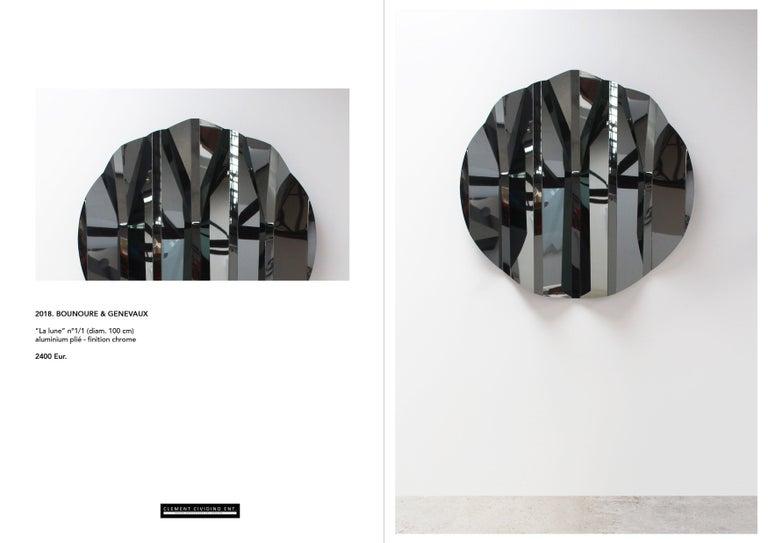 Modern 2017, Wall Sculpture, Bounoure & Genevaux For Sale