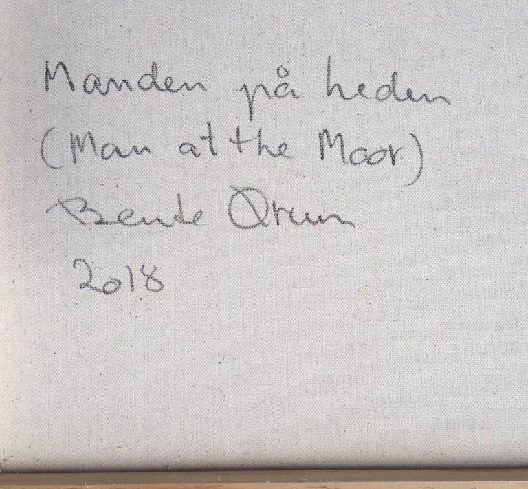 Danish 2018, Bente Ørum, Man at the Moor For Sale