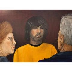 2018, Bente Ørum Painting, Defiance
