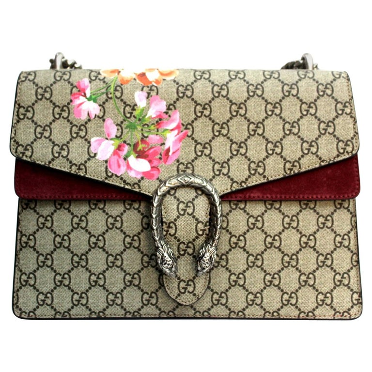 e1cfaa124fdb 2018 Gucci Dyonisus Blooms Bag For Sale at 1stdibs