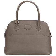 2018 HermèsEtain Epsom Leather Bolide 27cm
