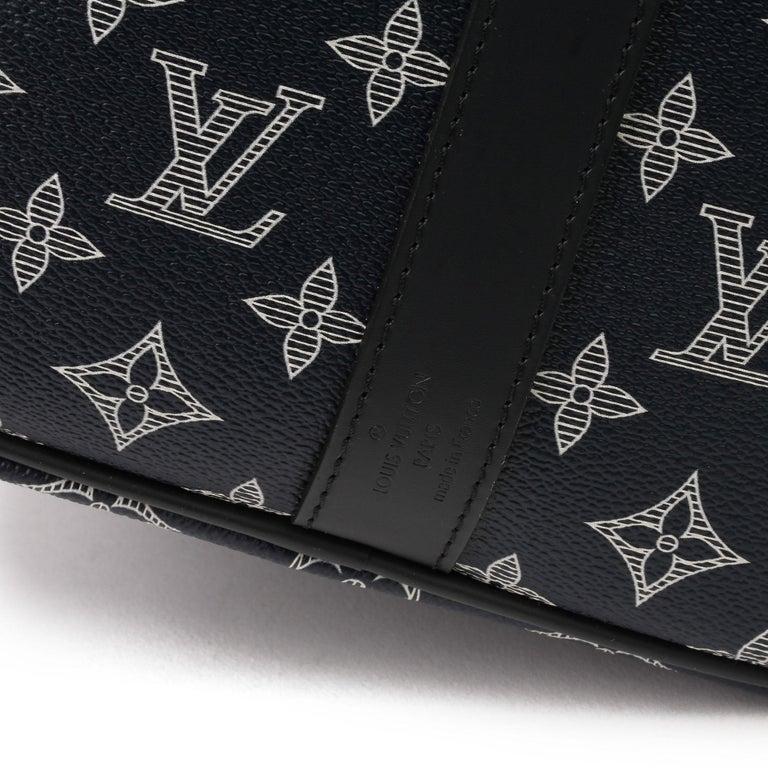 2018 Louis Vuitton Navy Pacific Monogram Canvas & Leather Upside Down Speedy 40  5