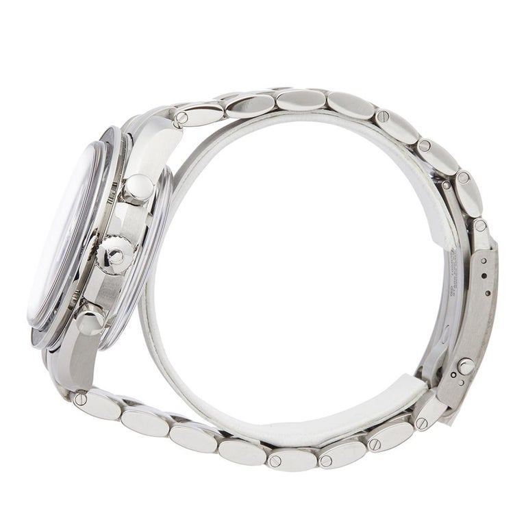 2018 Omega Speedmaster Stainless Steel 31130445101002 Wristwatch In Excellent Condition For Sale In Bishops Stortford, Hertfordshire