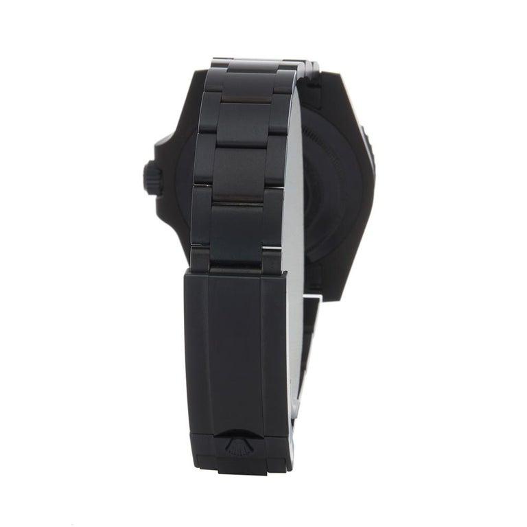 Men's 2018 Rolex Submariner Hercules Custom Stainless Steel 114060 Wristwatch For Sale