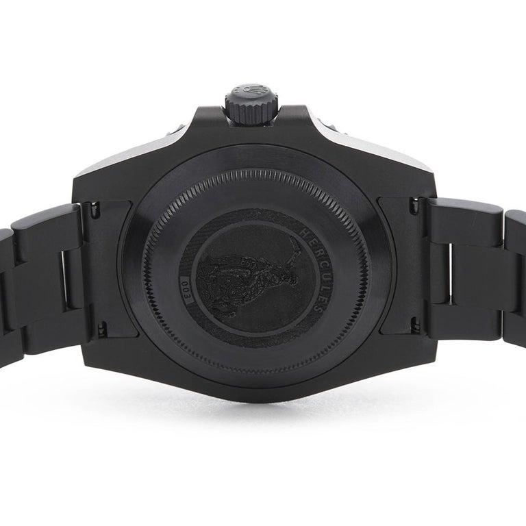 2018 Rolex Submariner Hercules Custom Stainless Steel 114060 Wristwatch For Sale 1