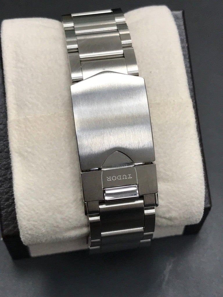 2018 Tudor Heritage Advisor 79620 Stainless Steel Box and Papers For Sale 2
