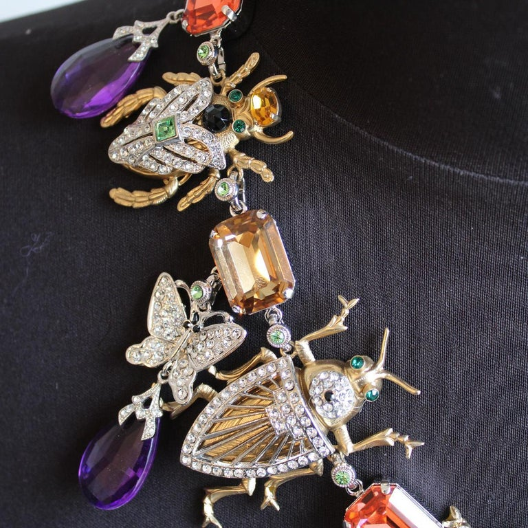 2019 Carlo Zini Bees necklace In New Condition For Sale In Gazzaniga (BG), IT