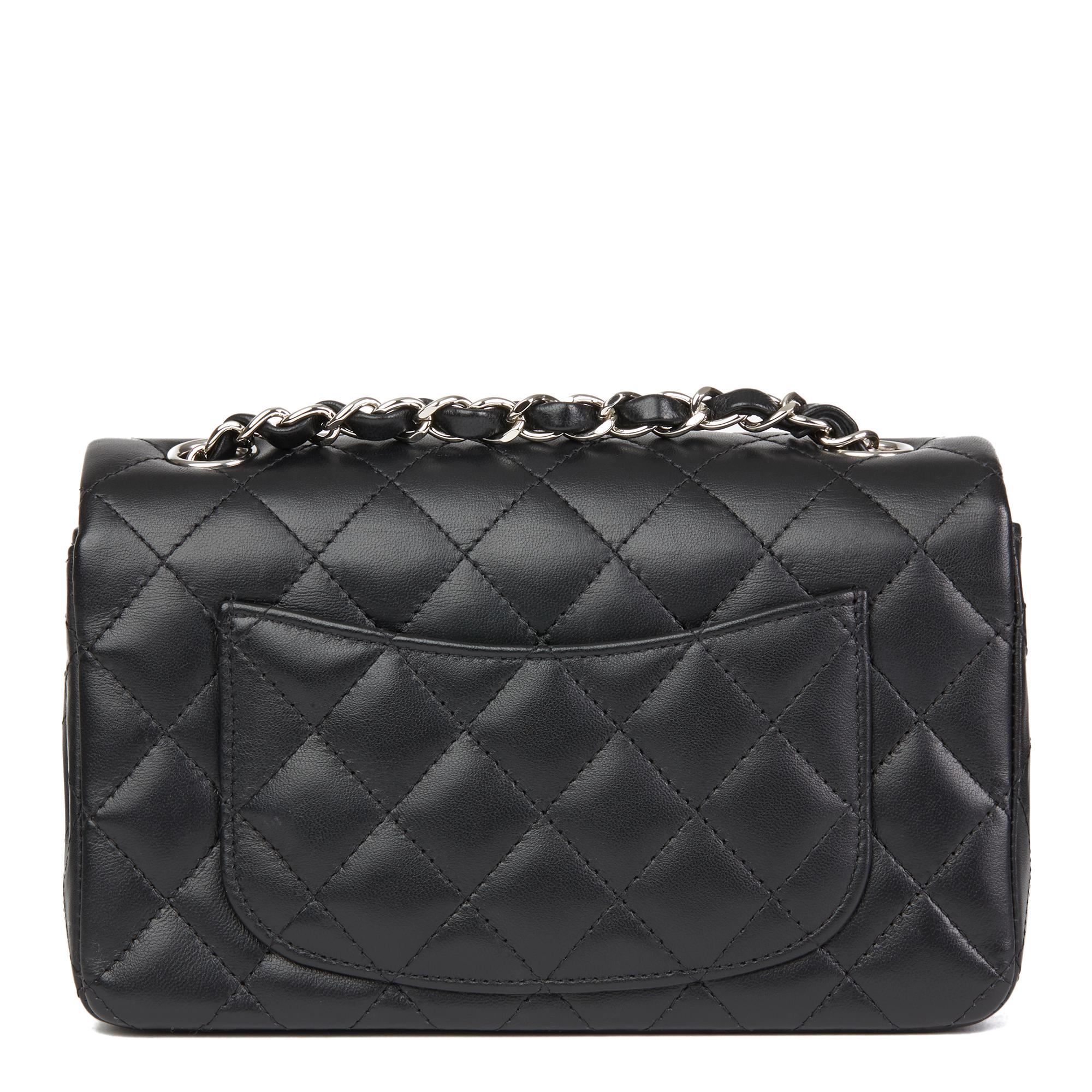 0fa7288be86d 2019CHANEL Caviar Quilted Mini Rectangular Flap Dark Red