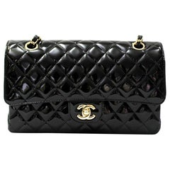 2019 Chanel Black Vernice 2.55 Bag