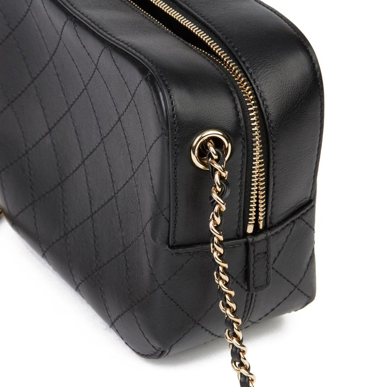 2019 Chanel Quilted Calfskin Mini Classic Camera Bag  For Sale 5