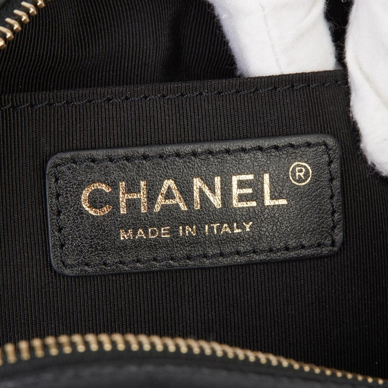 2019 Chanel Quilted Calfskin Mini Classic Camera Bag  For Sale 6