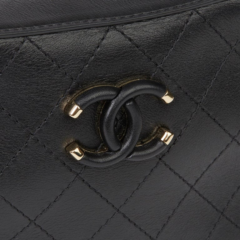 2019 Chanel Quilted Calfskin Mini Classic Camera Bag  For Sale 4