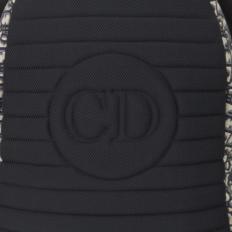 2019 Christian Dior Black Monogram Canvas Oblique Backpack 3