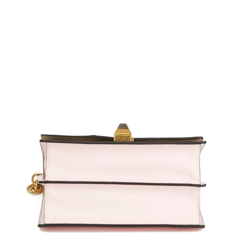 2019 Fendi Multicolour Calfskin Leather Fendi Mania Mini Kan I For Sale 1