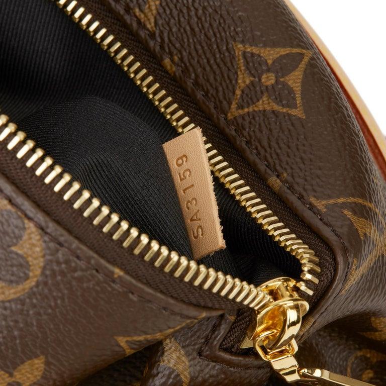 2019 Louis Vuitton Brown Monogram Coated Canvas Bum Bag For Sale 6