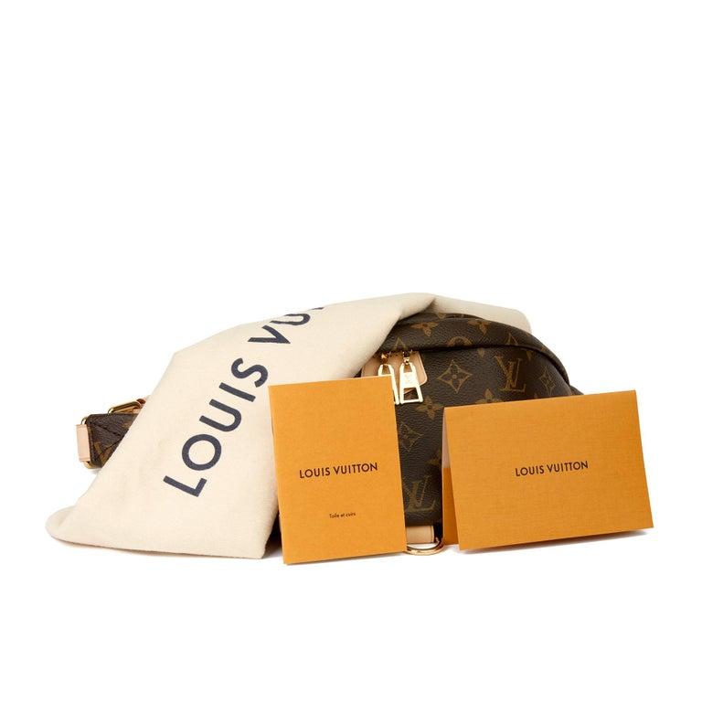 2019 Louis Vuitton Brown Monogram Coated Canvas Bum Bag For Sale 7