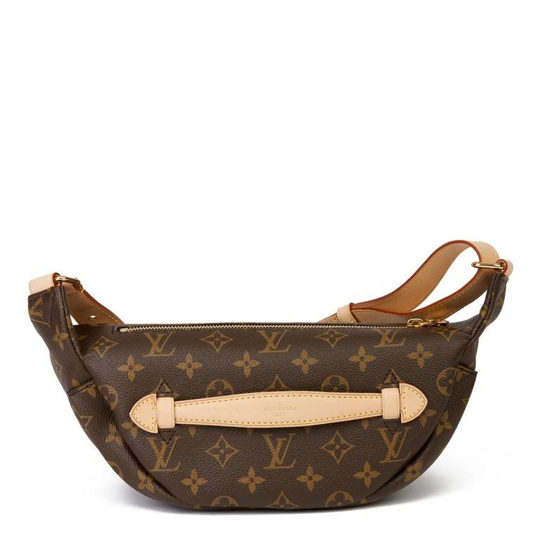 2019 Louis Vuitton Brown Monogram Coated Canvas Bum Bag For Sale 2