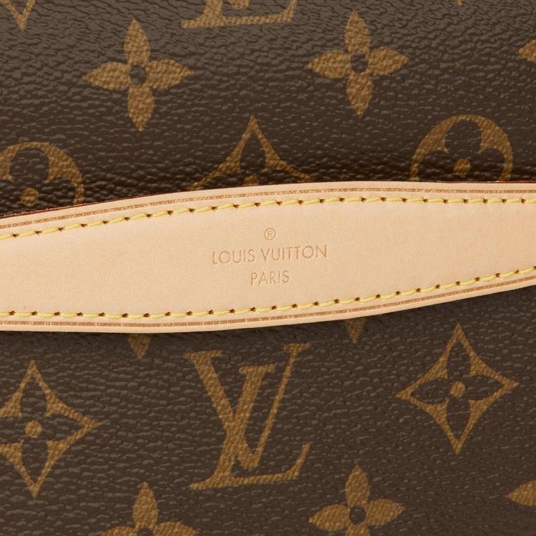 2019 Louis Vuitton Brown Monogram Coated Canvas Bum Bag For Sale 4