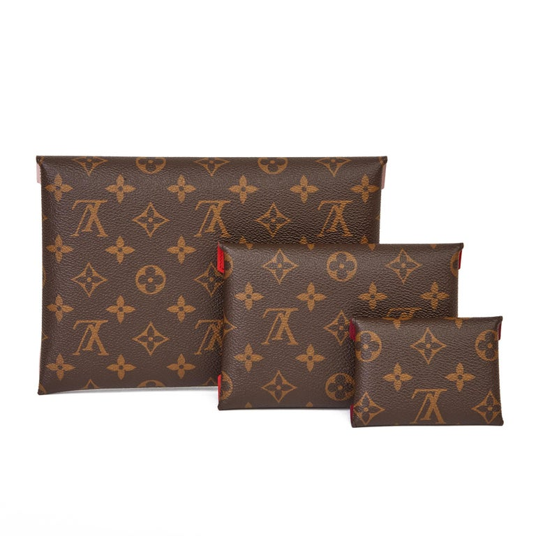 2019 Louis Vuitton Brown Monogram Coated Canvas Kirigami Set For Sale 1