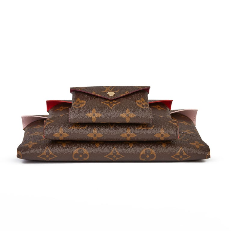 2019 Louis Vuitton Brown Monogram Coated Canvas Kirigami Set For Sale 2