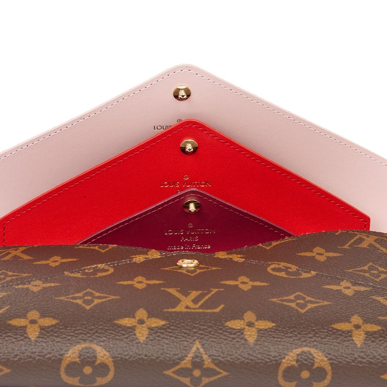 2019 Louis Vuitton Brown Monogram Coated Canvas Kirigami Set For Sale 3
