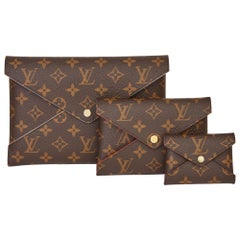 2019 Louis Vuitton Brown Monogram Coated Canvas Kirigami Set