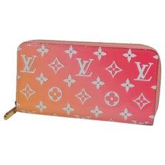 2019  Valentine Limited  Zippy Wallet  Verni  long wallet M90123  Sunrise Leathe