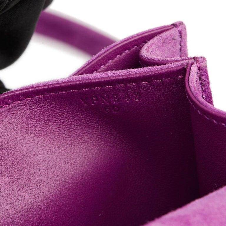 2020 Hermès Violet Clair Doblis Hermes Constance 18 5