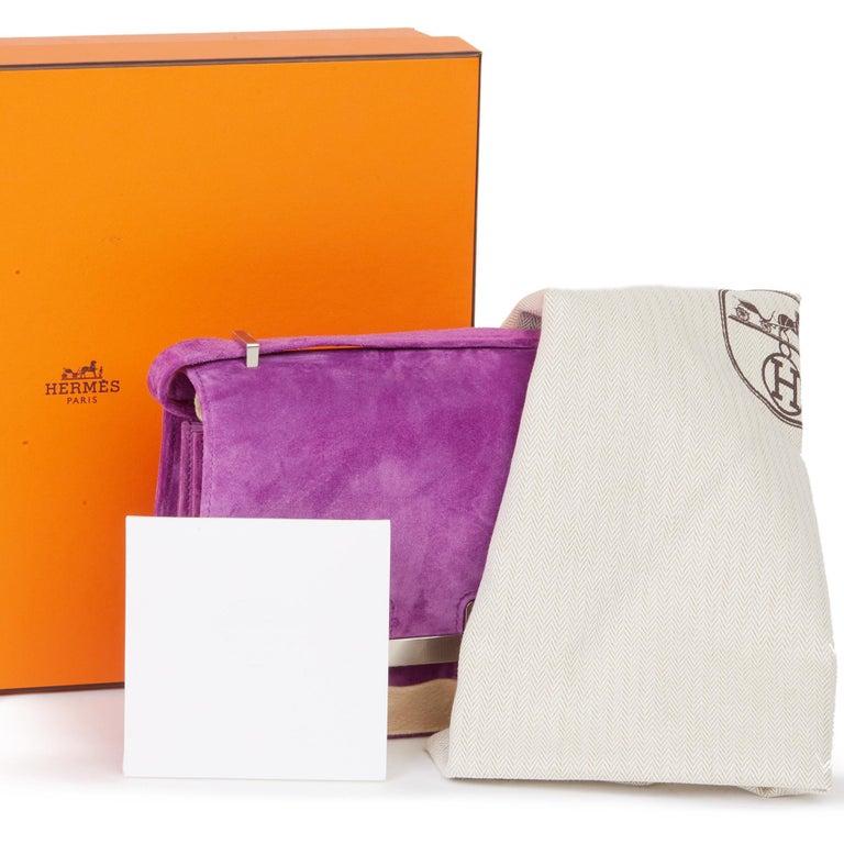 2020 Hermès Violet Clair Doblis Hermes Constance 18 7