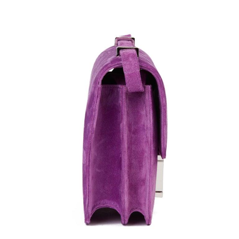 Purple 2020 Hermès Violet Clair Doblis Hermes Constance 18