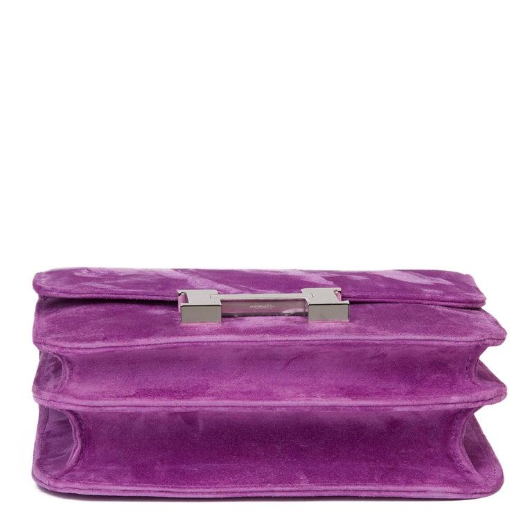 2020 Hermès Violet Clair Doblis Hermes Constance 18 1
