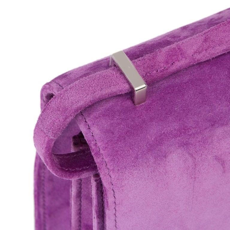 2020 Hermès Violet Clair Doblis Hermes Constance 18 3
