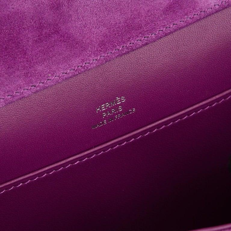 2020 Hermès Violet Clair Doblis Hermes Constance 18 4