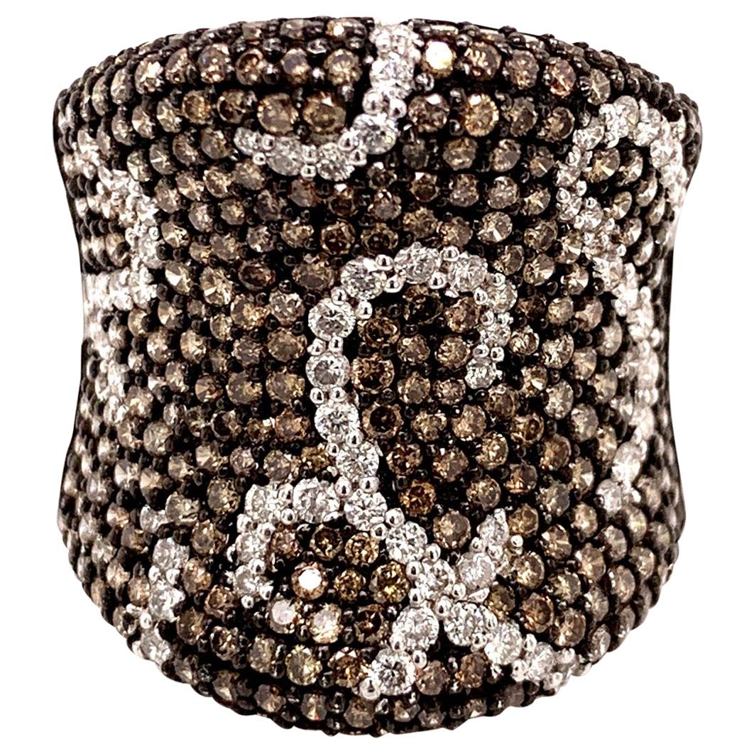 2.04 Carat Fancy Brown Diamond Cocktail Ring